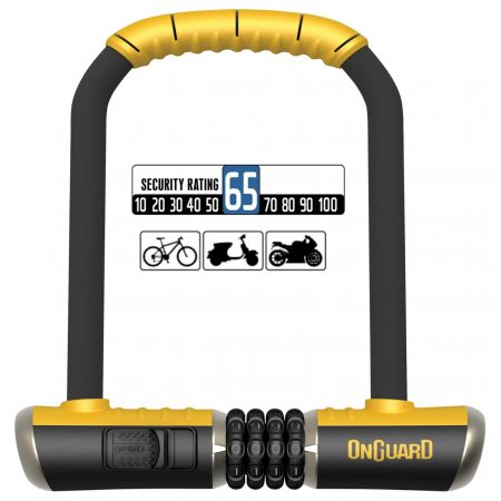 Candado para Bicicleta OnGuard U-Lock BULLDOG 8010C