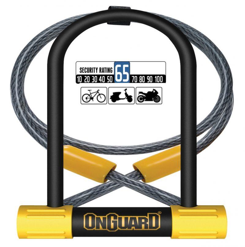 Candado para Bicicleta OnGuard U-Lock BULLDOG 8015M