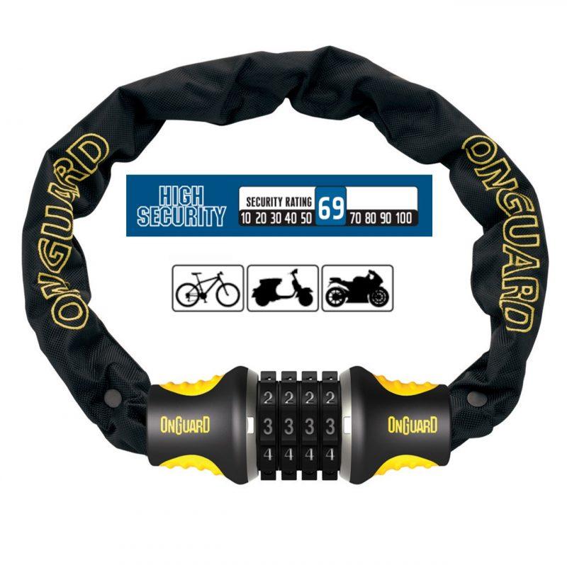 Candado para Bicicleta OnGuard U-Lock MASTIFF 8022C