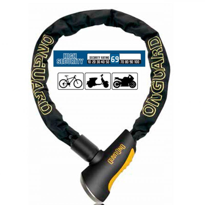 Candado para Bicicleta OnGuard U-Lock MASTIFF 8119